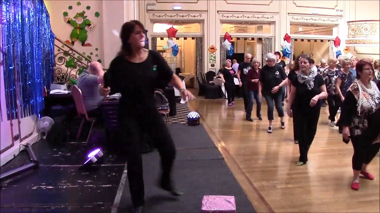 She Ain't Me Line Dance Demonstration with Maggie Gallagher