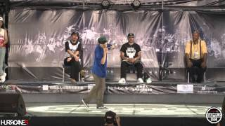GREEN TECK VS SLIM BOOGIE [ Best 8-4 ] - HURRICANES BATTLE-ISM 2015 TAIWAN & POPPIN 1ON1 SIDE