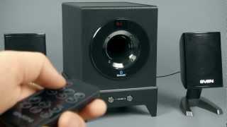 Видеообзор от iXBT.com - колонки SVEN MS-350BL