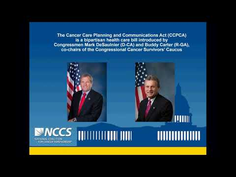 Webinar: Cancer Care Planning and Communications Act (CCPCA) - How to Get Involved