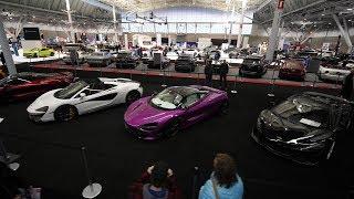 New England International Auto Show 2019 - Panasonic GH5 + monopod +  Zhiyun-Tech Weebill Lab