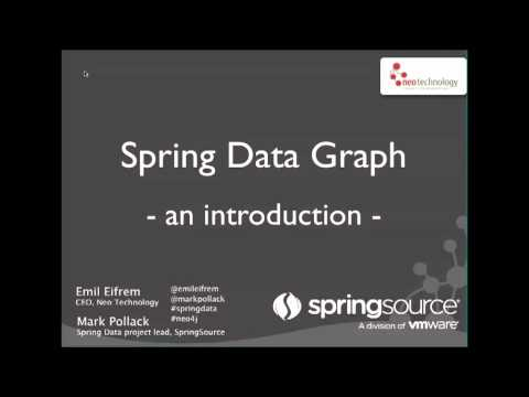 Getting Started Spring Data Graph Part 1