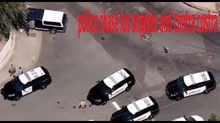 police chase los angeles and contra costra