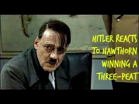 Hitler Reacts to Hawthorn winning the three-peat