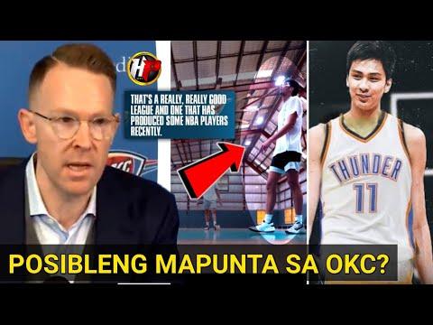 Download GM ng isang NBA Team may SINABI? Kai Sotto POSIBLENG MAPUNTA sa team ng OKC!
