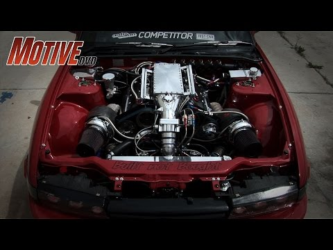 Power Hungry! 800horsepower VG30 twin turbo S13 Silvia