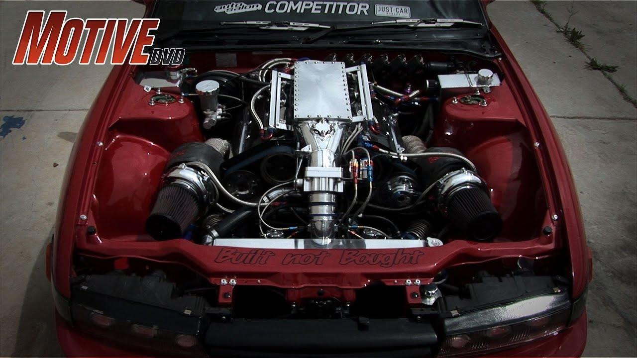 Power Hungry! 800horsepower VG30 twin turbo S13 Silvia