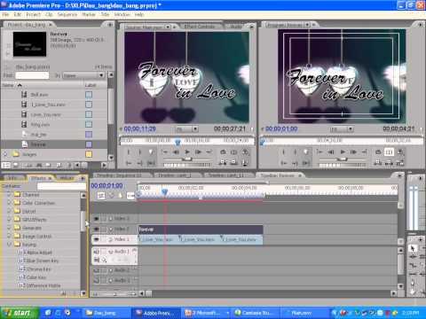 Học dựng phim bằng Adobe premiere bài 4