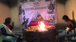 Mahavidya Chinnamasta Homam Part 3 Vedicfolks.com