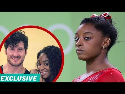 EXCLUSIVE Simone Biles Addresses Gold Medal Comment Val Chmerkovskiy  Normani Kordei Defend H…