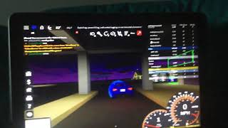 Roblox ( police chases me in frv car)