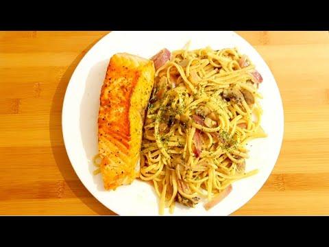 pâtes-au-saumon-(-recette-facile-et-rapide-)