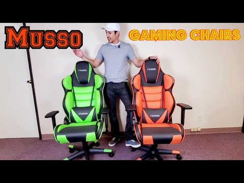 musso-contoured-gaming-chair-review-|-compared-to-cheap-gaming-chair