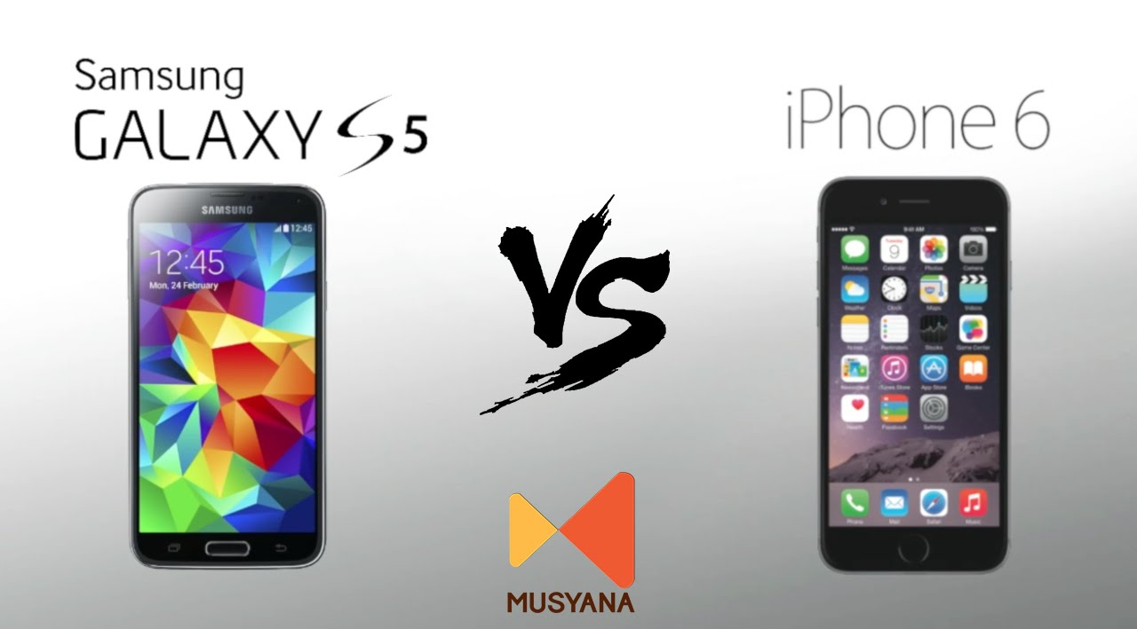 Samsung Galaxy S5 vs i...