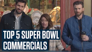Top 5 Super Bowl 54 Commercials You Might Have Missed!