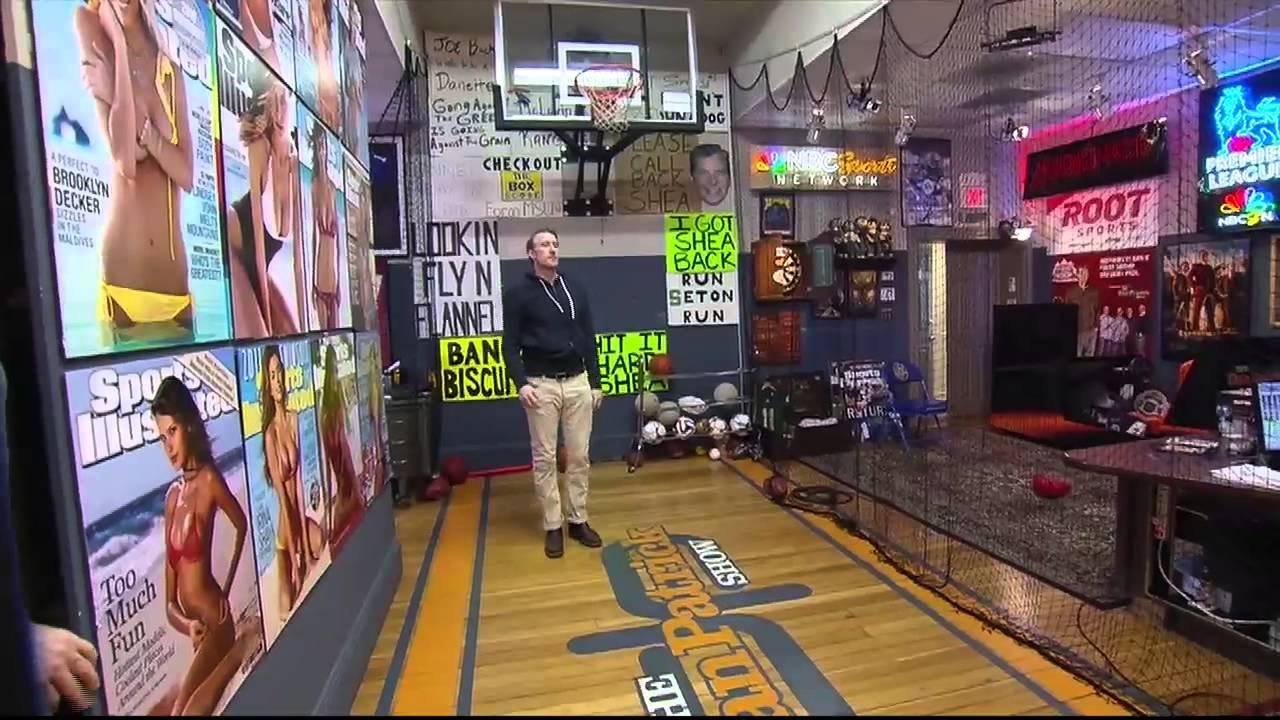 Man Caves Dan Patrick : Bledsoe throws at the wall 2 3 15 youtube