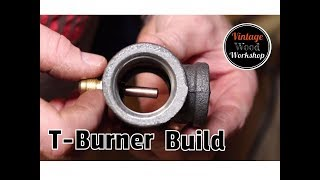 How to Build a Frosty T-Burner (Propane Forge) Step-by-Step Process