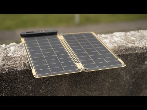Charge Your Phone Through Direct Sun Light. Review of the Solar Paper!