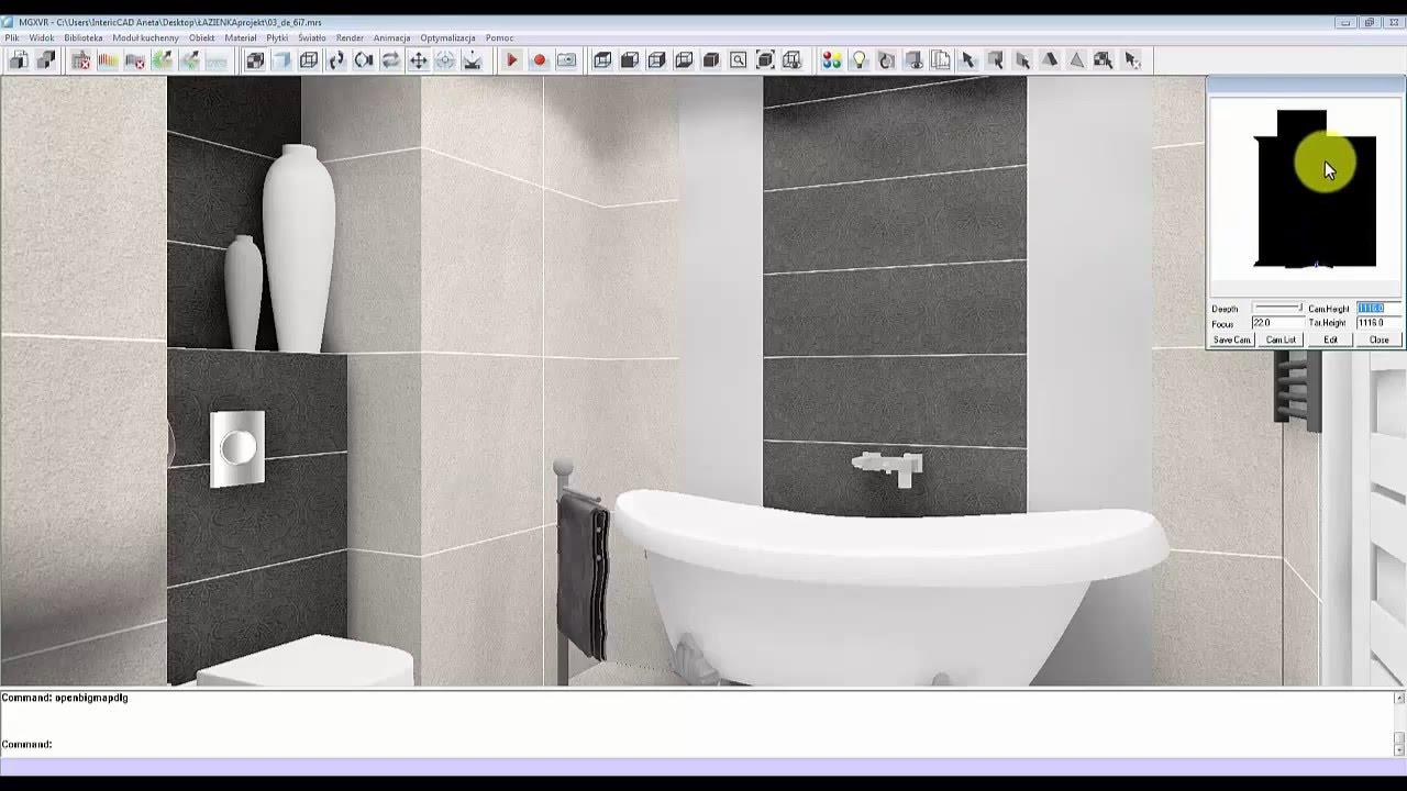 Jak Zaprojektować łazienkę Z Wnęką I Podwieszanym Sufitem Akademia Intericad