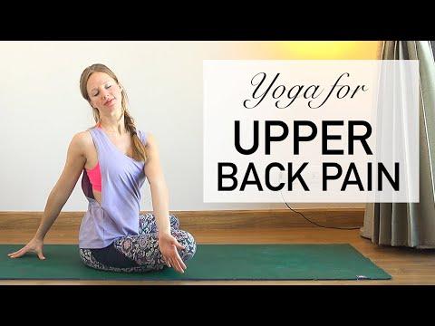 yoga for upper back pain ♥ strong beginner/ intermediate