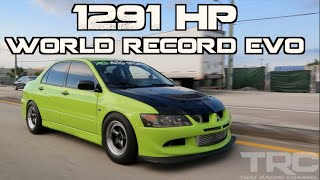 "Mitsubishi Evo World Record 1291HP - ""The Family Sedan"""