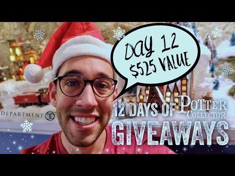 12 Days of Potter Collector Giveaways | Day 12 of Harry Potter Prizes