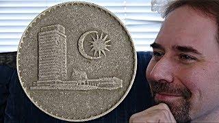 Malaysia 20 Sen 1976 Coin