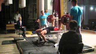 Мой жим лежа 140 кг - соревнования УБФП