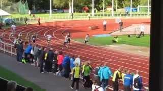 Oskari Lehtonen M17 SM 2014 100m ae