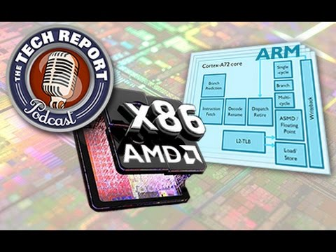 The TR Podcast 175: The Zen of chipmaking and ARM's Cortex-A72 revealed