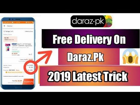 Free Delivery On Daraz.pk 2019 Latest Trick   Daraz free voucher code