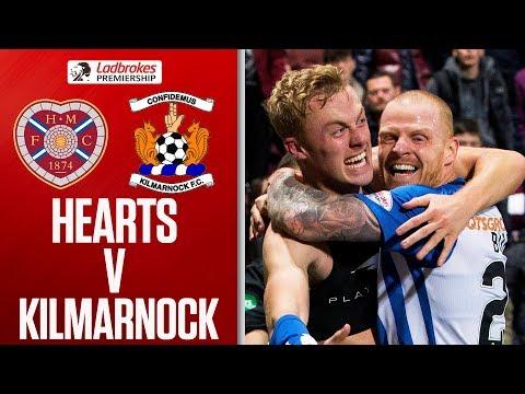 Hearts 0-1 Kilmarnock   Millen Scores For 3 Points   Ladbrokes Premiership