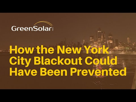 How the New York City Blackout Could Have Been Prevented