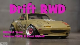 【RC RWD DRIFT】- Revol & Yokomo - DS RACING RWD F Zero Mark II