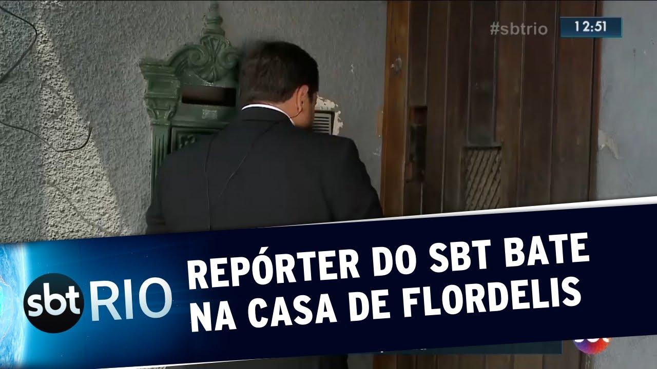 Download Repórter do SBT bate na casa de Flordelis ao vivo