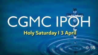 LiveStream - Saturday 3rd April @ 8:00 pm (Baptism)