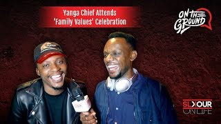 Yanga Chief Attends Riky Rick's 'Family Values' Celebration