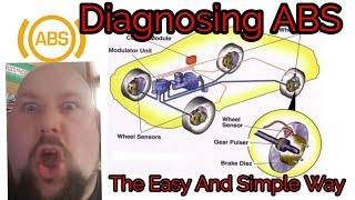 How To Fix And Dianosing Yours ABS System Ditex Scope