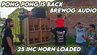 DJ PONG PONG IS BACK BREWOG AUDIO