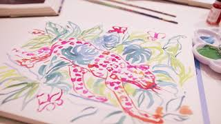 Tour Lilly Pulitzer's Worth Avenue Flagship Location in Palm Beach, Florida