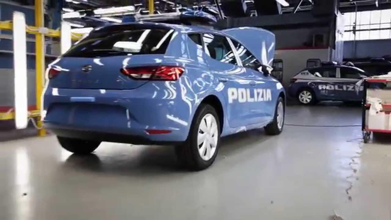 Seat Leon Di Polizia E Carabinieri Test E Allestimenti