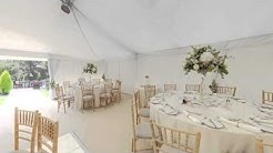 Unique Wedding Marquee by The Pearl Tent Company