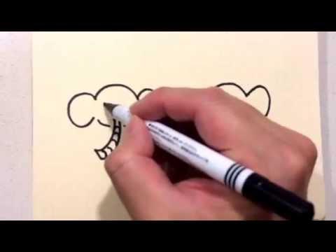 簡単にかわいいイラストを描く方法 動物編その2 Youtube