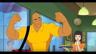 Supa Strikas - Season 2 Episode 24 - Big Bo, To Go!   Kids Car…