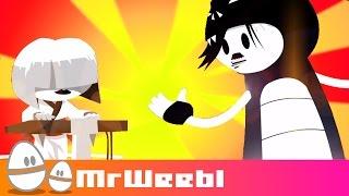 Repeat youtube video Tiny Japanese Girl : Savlonic : animated music video : MrWeebl