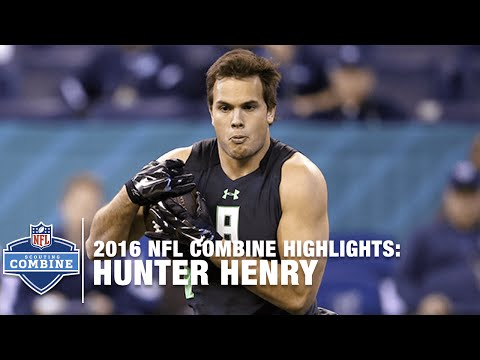 Hunter Henry (Arkansas, TE) | 2016 NFL Combine Highlights