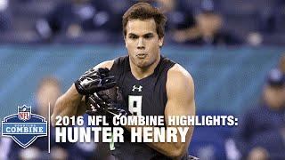 Hunter Henry (Arkansas, TE) | 2016 NFL Combine Highlights