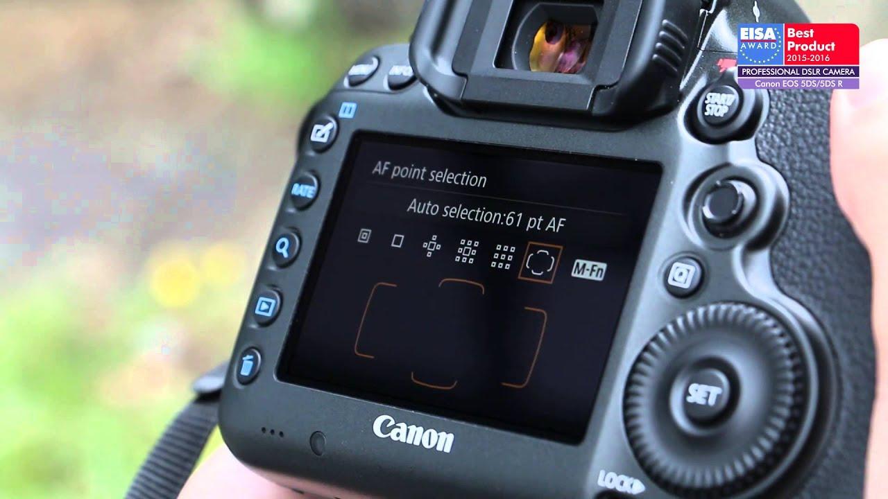 Camera Canon Professional Dslr Cameras european professional dslr camera 2015 2016 canon eos 5ds5ds r youtube