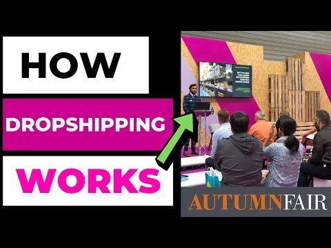 How Dropshipping Works Autumn Fair 2019 thumbnail