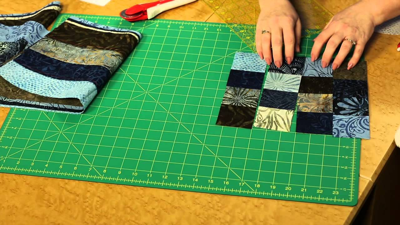 Quilting Quickly - XOXO Checkerboard Batik Patchwork Quilt - YouTube : batik patchwork quilt - Adamdwight.com